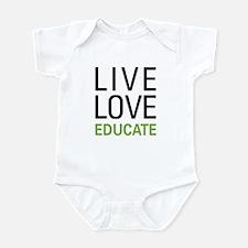 Live Love Educate Infant Bodysuit