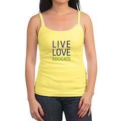 Live Love Educate Jr.Spaghetti Strap