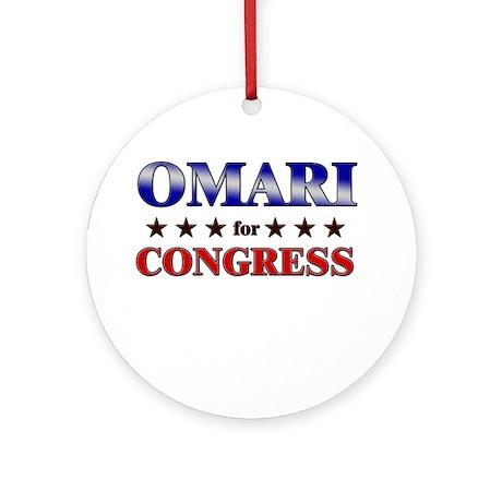 OMARI for congress Ornament (Round)