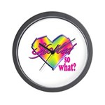 Spoiled - so what? Wall Clock