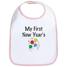 My First New Year's Bib
