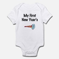 My First New Year's Infant Bodysuit