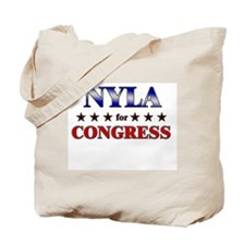 NYLA for congress Tote Bag