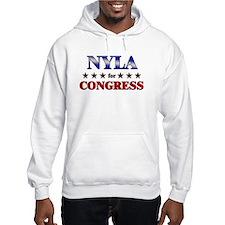 NYLA for congress Hoodie Sweatshirt