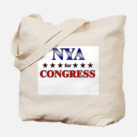 NYA for congress Tote Bag