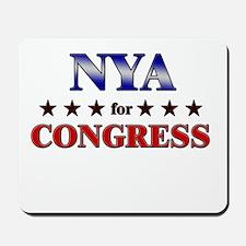 NYA for congress Mousepad