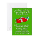 Santa Fairy Tale Greeting Cards (Pk of 20)