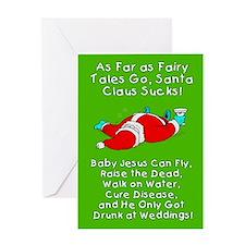 Santa Fairy Tale Greeting Card