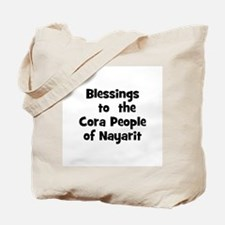 Blessings  to  the  Cora Peop Tote Bag