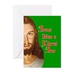 Jesus Was a Liberal Jew Greeting Cards (Pk of 20)