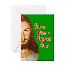Jesus Was a Liberal Jew Greeting Card