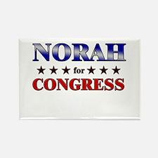 NORAH for congress Rectangle Magnet