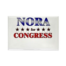 NORA for congress Rectangle Magnet