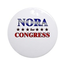 NORA for congress Ornament (Round)