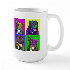Pit Bull Pair Mug