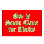 God is Santa Postcards (Package of 8)