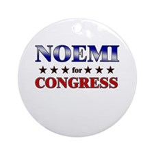 NOEMI for congress Ornament (Round)