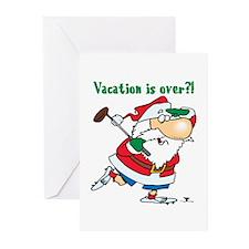 Vacation Santa Greeting Cards (Pk of 10)