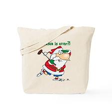 Vacation Santa Tote Bag