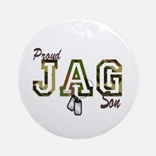 jag son Ornament (Round)