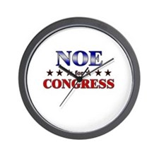 NOE for congress Wall Clock