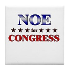 NOE for congress Tile Coaster