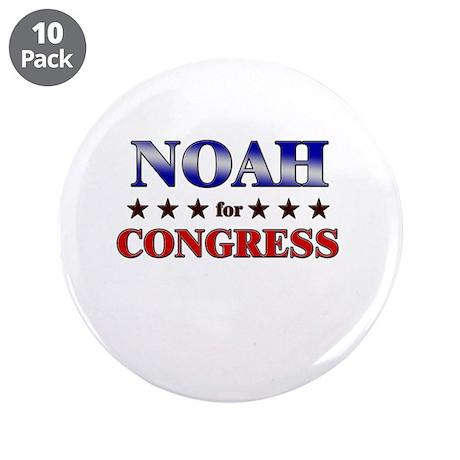 """NOAH for congress 3.5"""" Button (10 pack)"""