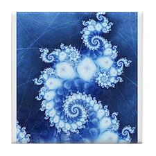 Fractals Tile Coaster