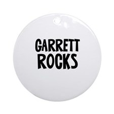 Garrett	 Rocks Ornament (Round)