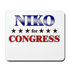 NIKO for congress Mousepad