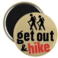 Get Out & Hike Magnet