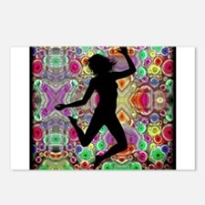 Hippie Dancer Postcards (Package of 8)