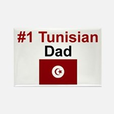 Tunisian #1 Dad Rectangle Magnet