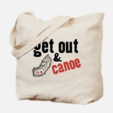 Get Out & Canoe Tote Bag
