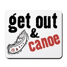 Get Out & Canoe Mousepad