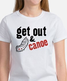 Get Out & Canoe Tee