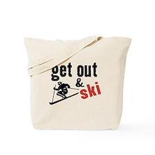 Get Out & Ski Tote Bag