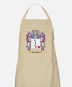 Husson Coat of Arms (Family Crest) Apron