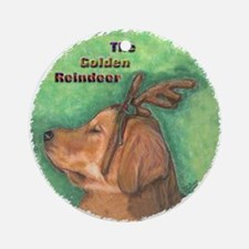 Golden Retriever Ornaments Ornament (Round)
