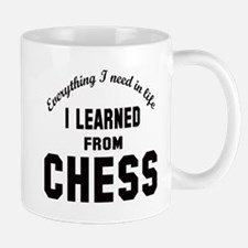 I learned from Chess Mug