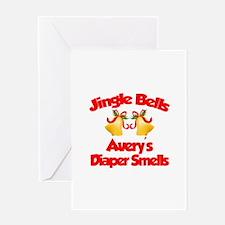 Avery - Jingle Bells Greeting Card
