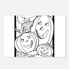 Halloween 54 Postcards (Package of 8)