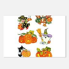 Halloween 55 Postcards (Package of 8)
