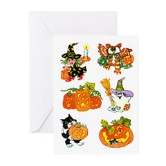 Halloween 55 Greeting Cards (Pk of 10)