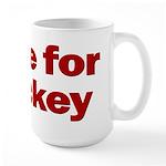 Large coffee mug. I live for hockey.
