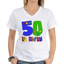 50 is Nifty (stars) Shirt