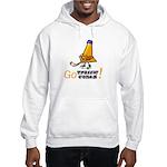 Hooded Sweatshirt, Go Traffic Cones!