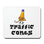 Mousepad, Traffic Cones.