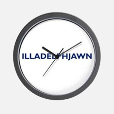 ILLADELPHJAWN Wall Clock