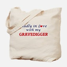 Madly in love with my Gravedigger Tote Bag